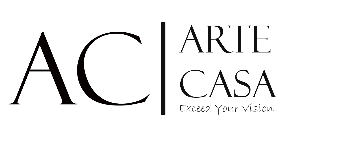 ArteCasa Logotip. Letters A and C.